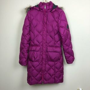 The North Face 550 Pink Down Parka